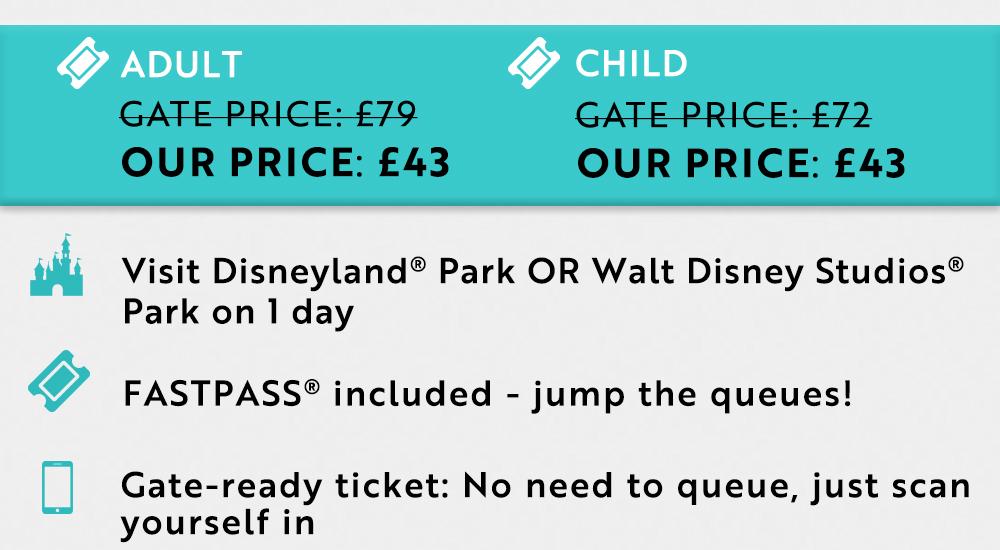 Disneyland Paris Tickets